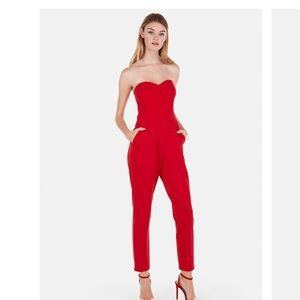 Pants - Strapless Sweetheart Jumpsuit